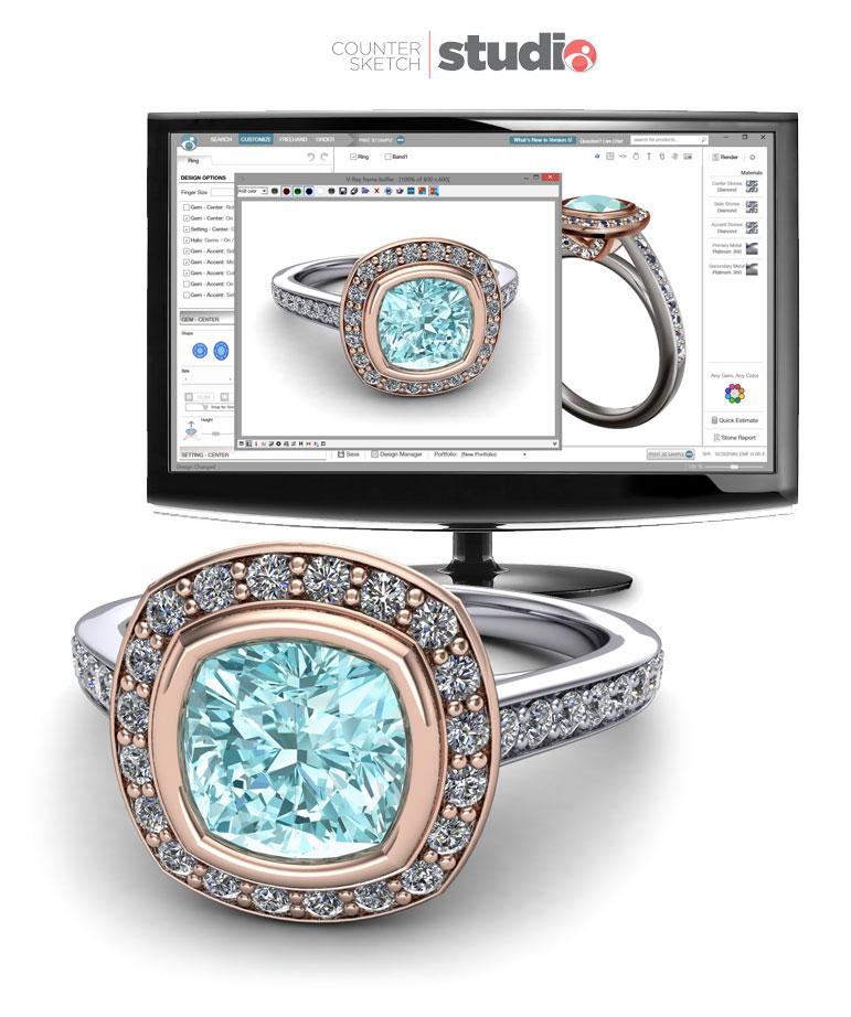 Counter Sketch Studio Custom Jewelry Design