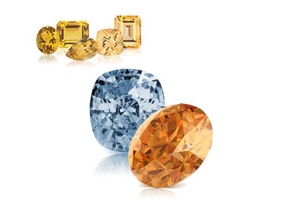 Topaz and Citrine Gemstones